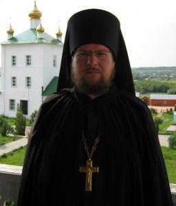 Ризничий. Регент братского хора иеромонах Иоасаф (Шигаев)